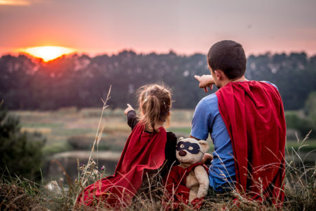 Família heroes